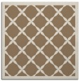 rug #121057 | square mid-brown traditional rug