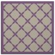 rug #121085 | square beige borders rug