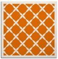 rug #121097   square orange borders rug