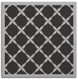 rug #121105 | square orange borders rug
