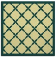 rug #121109   square yellow borders rug