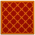 rug #121149 | square red borders rug
