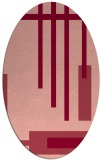 rug #1211542 | oval stripes rug