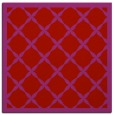 rug #121157 | square red traditional rug