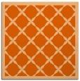 rug #121165   square red-orange traditional rug