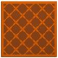 rug #121169 | square red-orange borders rug