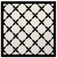 rug #121177 | square white geometry rug