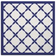 rug #121185 | square blue borders rug