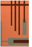 rug #1211895 |  red-orange stripes rug