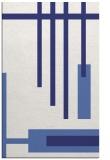 rug #1211971 |  blue stripes rug