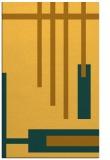 rug #1212003 |  light-orange abstract rug