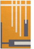 rug #1212035 |  light-orange graphic rug