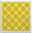 rug #121205 | square yellow traditional rug