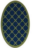 rug #121293 | oval borders rug