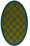 rug #121318 | oval traditional rug