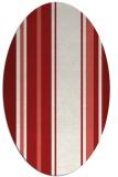 rug #1213431 | oval red rug