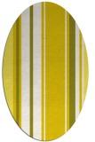 rug #1213459 | oval white stripes rug
