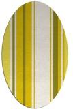 rug #1213460 | oval stripes rug