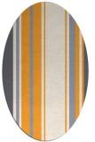 rug #1213527   oval white stripes rug