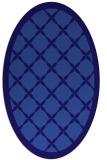 rug #121361 | oval blue-violet traditional rug