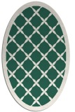 rug #121389 | oval borders rug