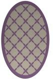 rug #121437 | oval beige traditional rug