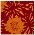 rug #1214847 | square orange natural rug
