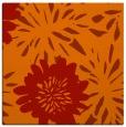 rug #1214899 | square orange natural rug
