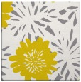 rug #1214963 | square yellow natural rug