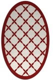 rug #121508 | oval traditional rug