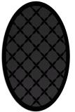 rug #121531 | oval borders rug