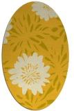 rug #1215323   oval yellow natural rug