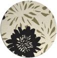 rug #1215763   round black natural rug