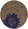 rug #1215843 | round beige natural rug