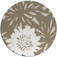rug #1216055 | round beige natural rug