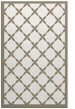 rug #121609    white borders rug