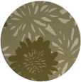 rug #1216091 | round light-green natural rug