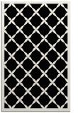 rug #121613 |  black borders rug