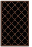 rug #121625 |  brown borders rug