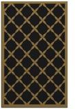 rug #121629 |  mid-brown borders rug