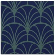rug #1216515 | square blue graphic rug