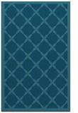 rug #121657 |  blue-green borders rug