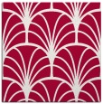 rug #1216591 | square red retro rug