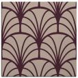 rug #1216643   square pink retro rug