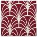 rug #1216707 | square pink retro rug
