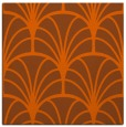 rug #1216759 | square red-orange retro rug