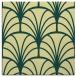 rug #1216811 | square yellow rug