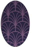 rug #1216939 | oval rug