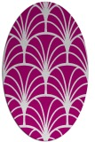 rug #1217044 | oval graphic rug