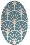 rug #1217156 | oval graphic rug